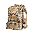 55L Large Capacity Outdoor Sports Military Tactical Bag Camping Hiking Backpack