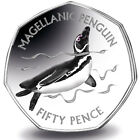 2017 Magellanic Penguin 50p and folder from the Falkland Islands