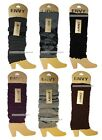 ENVY 1 Pair LEG WARMERS Women's/Girl's ONE SIZE Accessories *YOU CHOOSE* New!