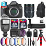 Canon EOS 5DS DSLR + 24-105mm 4L IS II + Slave Flash + Wireless Remote + 48GB