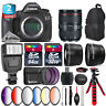 Canon EOS 5DS DSLR Camera + 24-105mm 4L IS II + Slave Flash + 9PC Filter +96GB