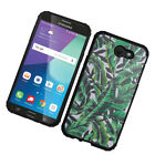 For Samsung Galaxy J3 Eclipse IMPACT HYBRID Hard Protector Case Skin Phone Cover
