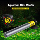 20-100W Aquarium Submersible Water Heater Mini Automatic Adjustable Thermostat