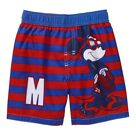 MICKEY MOUSE UPF-50+ Bathing Suit Swim Trunks w/Optional Sunglasses Sz. 3T or 4T