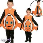 Child Cute Clownfish Nemo Fish Orange Sea Life Fancy Dress Costume Outfit Tabard