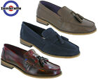 Lambretta Loafers Tassel Portobello Leather Slip Ons Mens Shoes Heeled Fashion
