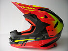 New UFO ONYX WAKE Motocross Enduro Helmet GOLD ACU Road Legal CRF CR RMZ DRZ