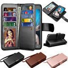 Magnetic Leather Wallet Flip Case Cover For Samsung Galaxy J3 Emerge / J3 2017