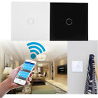 1 gang 1 way Smart Wifi Light Remote Control Touch Switch Panel For Amazon Alexa