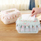 Lace Home Hotel Auto Car Tissue Box Napkin Pumping paper Cover Case Holder 1pcs