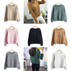Hot Sale Women Active Korean Winter Knitted Weaving Loose Thin Mohair Sweaters
