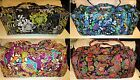 VERA BRADLEY XL Duffel Bag College Extra Large Travel Vacation FREE SHIP Duffle
