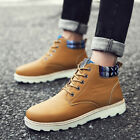 Men Winter Warm Leather Snow Boots Ankle Boots Casual Shoes Thermal Outdoor Wear