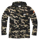 100% Adult Apache Hooded Jacket Camo M-XL
