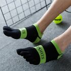 Gentleman Man Soft Cosy Cotton Breathble Five Fingers Toe Ankle Sport Socks