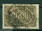 German Reich 254c , top , Infla tested