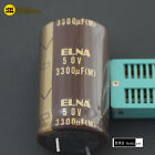 [Audio Jade] 3300uF 50V ELNA SILMICII SILMIC2 RFS Hi-Fi Audio Capacitors Japan