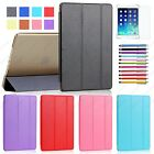 For iPad Air 2 Mini 1 2 3 4 Pro 9.7 Smart Case Cover Ultra Slim Light Weight