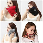 1x 2x Portable Soft Comfortable Travel Pillow Proven Neck Support Sitting Nap OZ