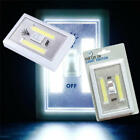 Night Light COB LED Cordless Switch wall Light Battery Operated Under Cabine 1pc