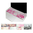 "Floral Pattern Silicone Keyboard Cover for Macbook Pro 13"" 15"" 17"" / New Air 13"""