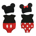 baby girl minnie mouse costume - Newborn Baby Minnie Mouse Costume Girl Romper Dress Bodysuit Mickey Boy Clothes