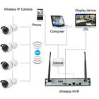 8/4 Channel CCTV NVR 720P HD Night Vision Network IP Camera Security System 1TB