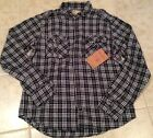 True Religion Shirt Long Sleeve Plaid flannel Men's NEW
