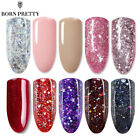 Born Pretty Christmas UV LED Gel Polish Nail Soak Off Glitter Party Varnish 10ml