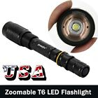 Tactical 12000LM 5-Mode T6 LED Flashlight 2x18650+1xCharger Outdoor From USA FV