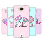 HEAD CASE DESIGNS PASTEL OVERLAYS BACK CASE FOR HUAWEI Y6 (2017) / NOVA YOUNG