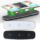 3 in 1 Qi Wireless Fast Charger Charging Stand Dock for Samsung Galaxy iPhone