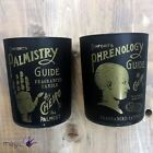 Temerity Jones Glass Phrenology Palmistry Scented Guide Fragrance Boho Candle