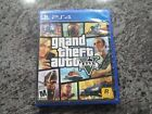 PS4 GRAND THEFT AUTO V (5) VIDEO GAME WITH MAP