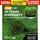 5-60 SQM Synthetic Turf Artificial Grass Plant Fake Lawn Outdoor Flooring 30mm