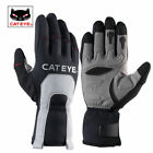CATEYE Winter Thermal Cycling Gloves Touch Screen Full Finger Sport Gloves Black