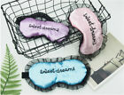 1PC Seeet Dream Lace Sleep Eye Mask Padded Shade Cover Travel Relax Aid