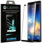 caseen Samsung Galaxy Note 8 / S8 Plus 3D Curved Screen Protector Tempered Glass
