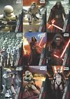 2015 Topps Star Wars The Force Awakens The First Order Rises cards - You Pick !!