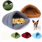 New Soft Nest Bed Puppy Warm Cave House Sleeping Bag Mat Pad Pet Cat Dog Gift UK