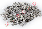100PCS± 130g Antique Tibetan Silver Charms Pendants Beads DIY Jewelry Findings