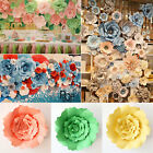 20/30cm DIY Paper Flowers Backdrop Decor Kid Birthday Party Wedding Favor Home