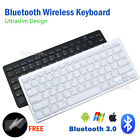 Bluetooth Wireless Keyboard For Tablet IOS Android Cellphone Mac Stand Holder