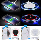 Qi Wireless Fast Charging Pad & Receiver for Samsung Galaxy S8/S6 iPhone X/8/7P