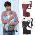 Ergonomic Cotton Infant Newborn Baby Carrier Backpack Front Back Hip Seat Chair