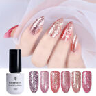 5ml Born Pretty Rose Gold Glitter Shiny Nail Art Soak Off UV Gel Polish Varnish