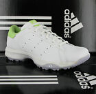 Adidas Stanzonian White Leather Waterproof Womens Golf Spikeless Shoes Size 3-8
