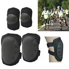 4 Knee Elbow Protective Pad Sports Tactical Airsoft Combat Skate Protector Gear