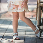 NWT Persnickety Pocket Full of Posies Tillie Shorts Floral & Lace Girls sz 4 5
