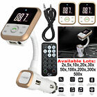 Wireless Bluetooth Car MP3 Player FM Transmitter LCD SD USB Mobile Charger Kit